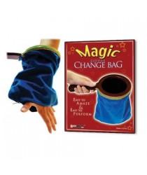 Magic Zipper Change Bag (Blue)