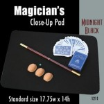 "Standard Size Close-up Pad (Midnight Black) 17.75"" x 14"""