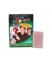 """Get Ready To Learn Magic"" 25 Tricks Jaw Droppers DVD + bridge svengali deck"