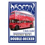 Phoenix Double Decker (Blue) by Card-Shark - Trick
