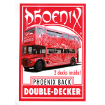 Phoenix Double Decker (Red) by Card-Shark - Trick