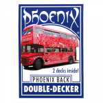 Phoenix Double Decker One Way (Blue) by Card-Shark - Trick