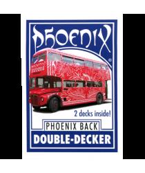 Phoenix Double Decker One Way (Blue) by Card-Shark - Trick