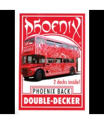 Phoenix Double Decker One Way (Red) by Card-Shark - Trick