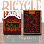 Bicycle Old Masters Playing Cards (Numbered Limited Edition Tuck and back card) by Collectable Playing Cards