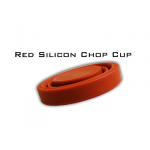 Harmonica Chop Cup Red (Silicon) by Leo Smetsers - Trick