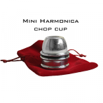 Mini Harmonica Chop Cup (Aluminium) by Leo Smetsers - Trick