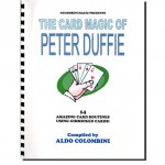 The Card Magic Of Pete Duffie (Spiral Bound) by Aldo Colombini - Book