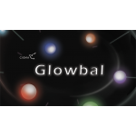Glowbal 1.75 inch (red) single ball by Cigma Magic - Trick