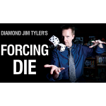 Single Forcing Die (6) by Diamond Jim Tyler - Trick