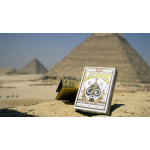 Egyptian Legends Playing Cards (Red) by Expert Playing Cards