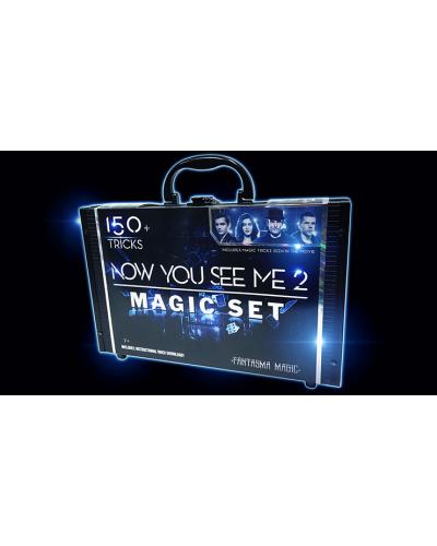 Now You See Me 2 Magic Set (150 Tricks) by Fantasma Magic