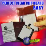Clear Clip Board (Baby) by Guy Bavli - Trick