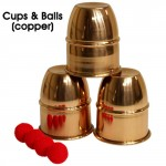 Cups & Balls (Copper) by Premium Magic - Trick