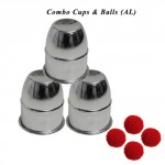 Combo Cups & Balls (AL) by Premium magic