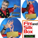 Fire & Silk Box w/ DVD by Tora Magic