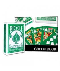 Green Cards Bicycle (Face and Back)