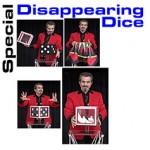 Special Disappearing Dice w/ DVD by Tora Magic
