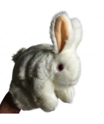 The Close-Up Rabbit Puppet by The Miracle Factory