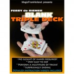 Triple Deck (Blue / Blank) by Ferry De Riemer - Trick