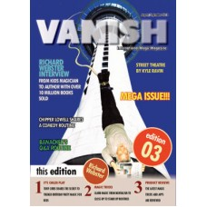 Vanish Magazine Issue 3 By Paul Romhany FREE INSTANT DOWNLOAD