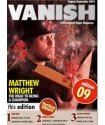 Vanish Magazine Issue 9 by Paul Romhany FREE INSTANT DOWNLOAD
