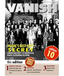 Vanish Magazine Issue 10 By Paul Romhany FREE INSTANT DOWNLOAD