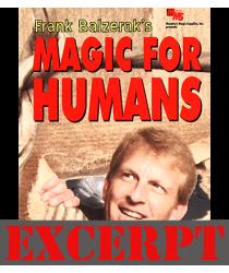Magic For Humans by Frank Balzerak video DOWNLOAD (Excerpt of Magic For Humans by Frank Balzerak)