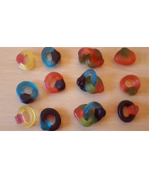 Visible Linking Jelly Sweet Gummy Finger Rings by Jonathan Royle Mixed Media DOWNLOAD