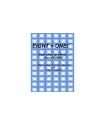 Eight + One! by Paul A. Lelekis eBook DOWNLOAD