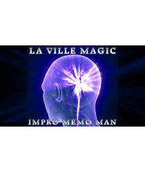 Impro Memo Man & The Rubiks Cube by Lars La Ville - La Ville Magic video DOWNLOAD