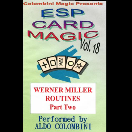 Esp Card Magic Volume 18 By Wild Colombini Magic Video Download Magic Tao