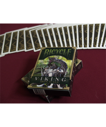 Bicycle Viking Iron Scale Deck by Crooked Kings Cards