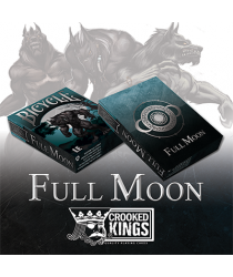 Bicycle Werewolf Full Moon Playing Cards