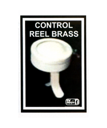 Control Reel (Brass) by Mr. Magic - Trick