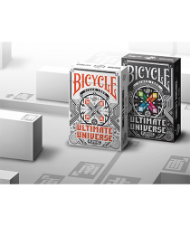 Bicycle Ultimate Universe Gray Scale Playing Cards by Gamblers Warehouse