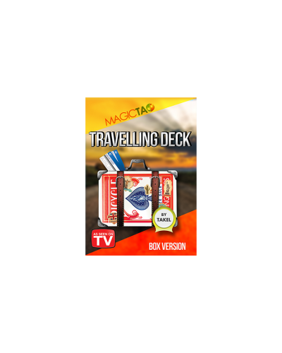Travelling Deck Box Version Blue (Gimmick and Online Instructions) by Takel - Trick