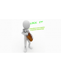 Lock It Green (Gimmick and Online Instructions) by Al Bach - Trick