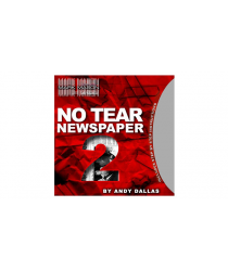No Tear Newspaper 2 (Gimmick and Online Instructions) by Andy Dallas - Trick