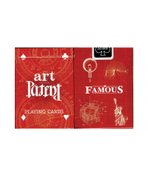Limited Edition Art of the Patent (Famous) Playing Cards