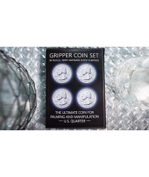 Gripper Coin (Set/U.S. 25) by Rocco Silano - Trick