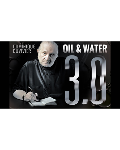 Oil & Water 3.0 by Dominique Duvivier (DVD and Gimmick) - DVD
