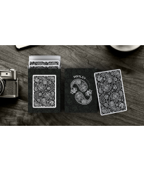 Diamon Playing Cards Paisley Edition (Black)