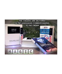 Opus Book Test English (Gimmicks and Online Instructions) by Denis Marc Paret - Trick