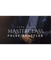 Card Magic Masterclass (False Shuffles and Cuts) by Roberto Giobbi - DVD