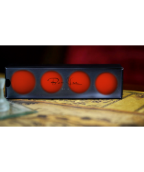 Perfect Manipulation Balls (1.7 Red) by Bond Lee - Trick