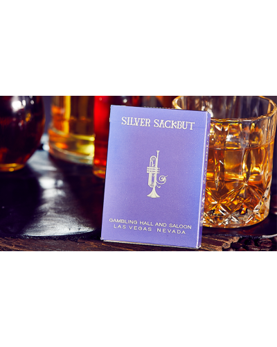 Limited Edition Silver Sackbut Playing Cards V2 (Violet)