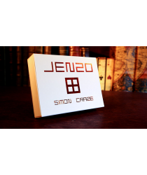JENZO White (Gimmicks and Online Instructions) by Simon Craze - Trick