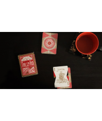 Special Edition Chinese New Year Tally-Ho Playing Cards by US Playing Card Co