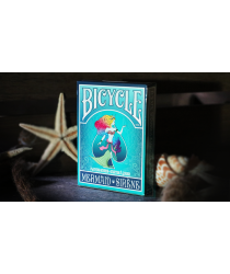 Mermaid Playing Cards (Turquoise) by US Playing Card Co